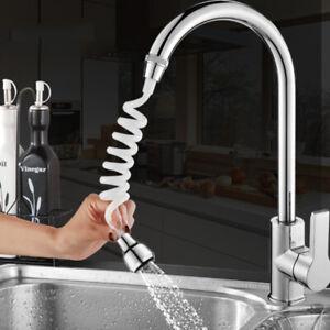 1Pcs Bathroom Faucet Connector Kitchen Water Tap Extension Nozzle Sprayer Hose