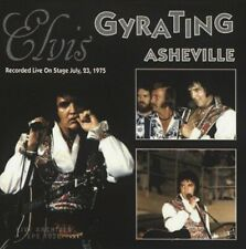 RARE DOUBLE CD IMPORT ELVIS PRESLEY- GYRATING ASHEVILLE -  INCLUS SHAKE A HAND