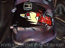 Honda Civic  ACCORD Valve Cover D and F series Choose Custom Color Artwork JDM