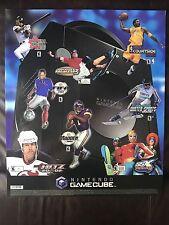 Nintendo Gamecube SSX Tony Hawk Madden 2002 Store Display Sign Sticker Poster