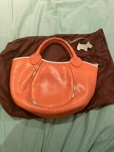 Tan Leather Radley Large Clutch Bag- Immaculate condition