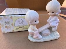 Precious Moments Love Lifted Me Porcelain Figurine E-1375/A