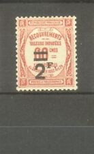 "FRANCE STAMP TIMBRE TAXE N° 54 "" 2F SUR 60c ROUGE "" NEUF xx SUP"