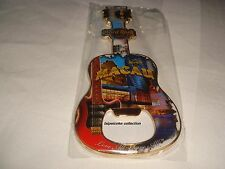 Hard Rock Hotel Macau 2014 City Guitar Bottle Opener Magnet NEW VERSION