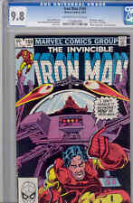 Iron Man 169  CGC 9.8 oww 1980 Comic with NEW Iron Man Key Issue