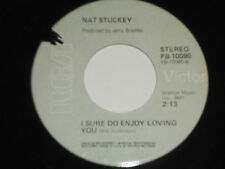 NAT STUCKEY NM You Don't Have To Go Home 45 I Sure Do Enjoy Loving You PB-10090