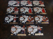 2006-07 Topps Basketball---Clutch City Stars---Lot Of 11---Stars Only---See List