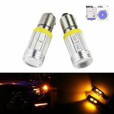 2x BAY9s H21W 10 SMD LED Orange Indicateurs Feux Stop diurnes DRL Ampoules Lampe