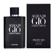 Acqua Aqua Di Gio Profumo by Giorgio Armani 4.2 oz Eau De Parfum for Men NIB