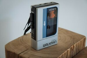 Sony Walkman WM-9 Vintage Stereo Cassette Player silber für Kassetten MC 1986