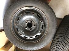 4 pneus neige sur jantes 165/70 R14 81T M&S