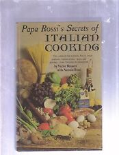 PAPA ROSSI'S SECRETS OF ITALIAN COOKING by Antonia Rossi (1969/HC COOKBOOK)