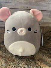 New listing Squishmallows Kellytoy 7� Misty Mouse 2020 Plush Toy Gray Nwt Stuffed Animal