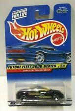 2000 Hot Wheels Future Fleet 2000 Chrysler Thunderbolt Black 4