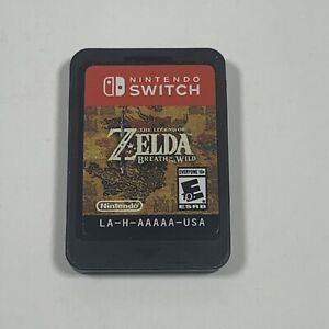 The Legend of Zelda: Breath of the Wild (Nintendo Switch, 2017) Cart Only! FAST!