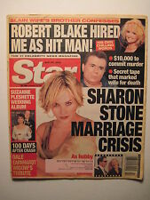 Star Magazine 5-29-2001. Sharon Stone! Dale Earnhardt Widow's Tribute! (nascar)
