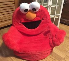 2007 Elmo Says Spin Chair from Spinmaster Talks Giggles Plays Game Ages 1-2 Yrs