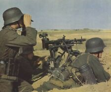 COLOR WW2 PHOTO CLASSIC WWII MG34 IN ACTION GERMANY WORLD WAR TWO Wehrmacht