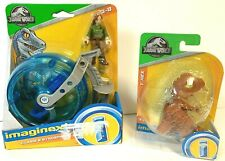Imaginext Jurassic World Claire and Gyrosphere plus T-REX