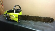 """Poulan 245a Chainsaw Texas Leatherface  Running Saw 20"""" bar and chain 245A"""