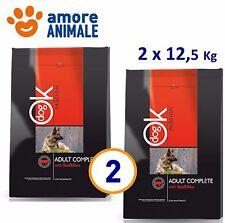 2 SACCHI Ok Dog Passion Adult Complete Manzo & Riso 12,5 kg - Crocchette cani