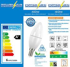 6x 6w LED Energy Saving Light Bulbs Small Edison Screw Cap SES E14 40w/60w s8228