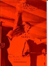 Taxim Nr. 26   (Rares deutsches Rock Fanzine 1984) Action / Chocolate Watchband