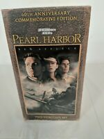 Pearl Harbor VHS 60th Anniversary Commemorative Edition Box set New Ben Affleck