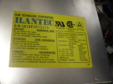 Ilantec Ilan Compudyne AT PC Power Supply S-20PP AC Power Switch 386 486 Clone