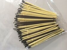 100 Rod Building Finishing Brushes FREE SHIPPING