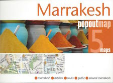 Marrakesh PopOut Map (Morocco) *IN STOCK IN MELBOURNE - NEW*