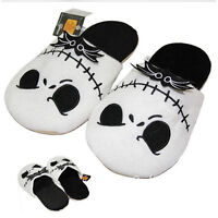 The Nightmare Before Christmas Jack Skellington Slippers Adult Plush shoes UK