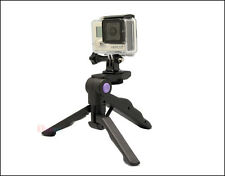 Adjustable Folding Tripod Desktop Tripod for GoPro Camera Hero 4/3 SJ4000 SJ5000