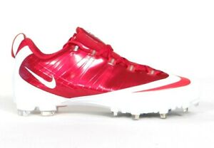 Nike Zoom Vapor Carbon Flywire TD Low Football Cleats Red & White Mens NWT