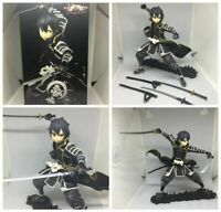 17CM Sword Art Online Samurai Kirito Anime Figure SAO Collection Toy New In Box