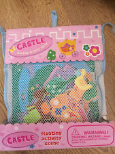 Meadow Kids Castle Bath Time Stickers x14 pieces Educational Toy Activity Scene