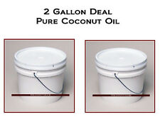 Coconut Oil All Natural and Pure BULK 2 Gallons  Buy it Now