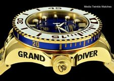 Invicta 47mm Grand Diver 2 Gen II Automatic BLUE Dial Blue Accent Bracelet Watch