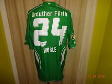 SpVgg Greuther Fürth Jako DFB Pokal Matchworn Trikot 08/09 + Nr.24 Wörle Gr.M/L