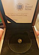 2008 GOLD £5 QUEEN ELIZABETH I BOX&COA ONLY