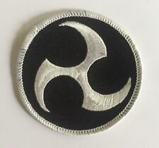 Vintage Okinawan Weapons Karate Kung Fu Martial Arts Jacket Patch Crest 679