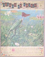 TUTTE LE FIABE DELLA NONNA -LE RANE-RIVISTA DEL 1963-ANNO 1 N.51 PER BIMBI