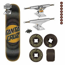 Santa Cruz Skateboard Complete Vertigo Ray Dot, Indy Trucks, Santa Cruz Wheels