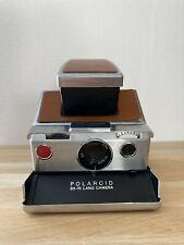 Polaroid SX 70 Land Camera marron / argent