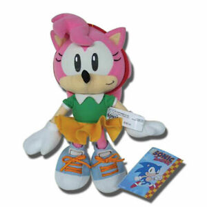 """SONIC AMY PLUSH 9"""" - NEW AUTHENTIC. IN STOCK!"""