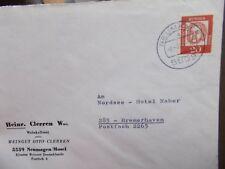 Brief Neumagen / Mosel 8.9.1965 nach Bremerhaven