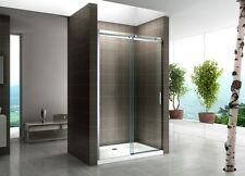 Nischentür Dusche Duschabtrennung mit Schiebetür Klarglas #806