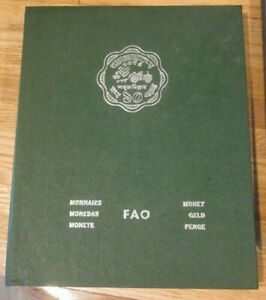 1974 FAO BU & PROOF SET - ALBUM No.3 - 31 Coins from 20 Countries w/ SILVER