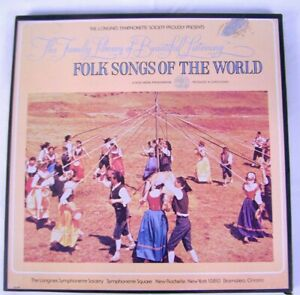 Folk Songs Of The World Longines Symphonette Records