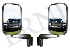 LAND ROVER SERIES ALL MODELS MIRROR & ARM SET OF TWO NEW PART# MTC5217